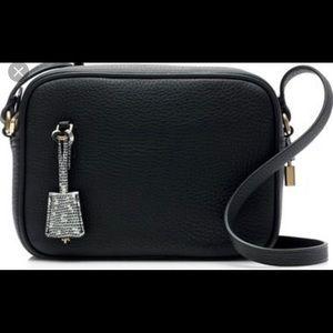 Black Signet Black in Italian Leather.